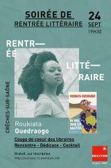 Decitre Crêches-sur-Saône - Soirée - 24/09/2020