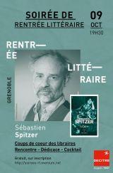 Decitre Grenoble - Soirée - 09/10/2020