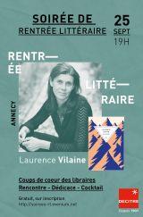Decitre Annecy - Soirée - 25/09/2020