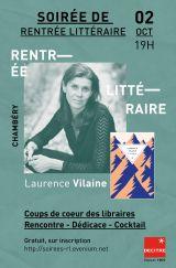 Decitre Chambéry - Soirée - 02/10/2020