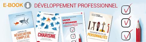 Développement professionnel : les incontournables en ebooks