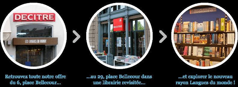 Retrouver les livres de langues au magasin 29 place Bellecour