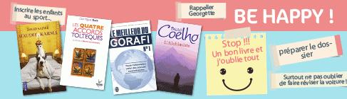 Des livres pour vous rendre de bonne humeur