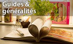 Guides de cuisine et généralités