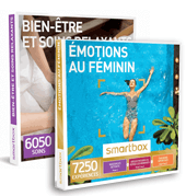 Smartbox coffrets cadeaux pour elle
