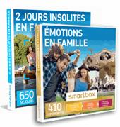 Smartbox coffrets en famille