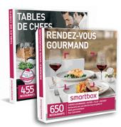 Smartbox coffrets cadeaux gastronomie