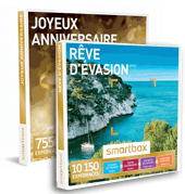 Smartbox coffrets cadeaux multi-thèmes