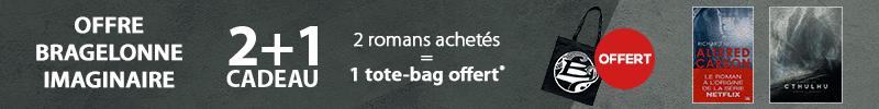 Offre Bragelonne : 1 tote bag offert pour deux livres achetés