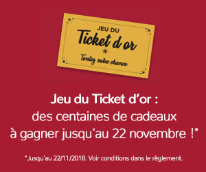 Jeu du ticket d'or