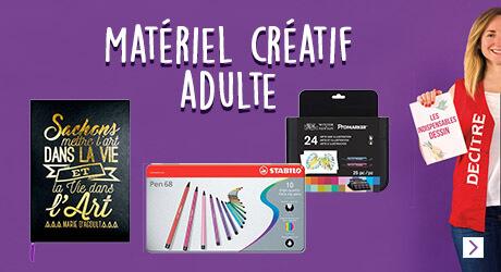 Matériel créatif adultes
