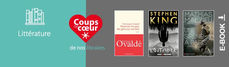 La littérature préférée de nos libraires en numérique