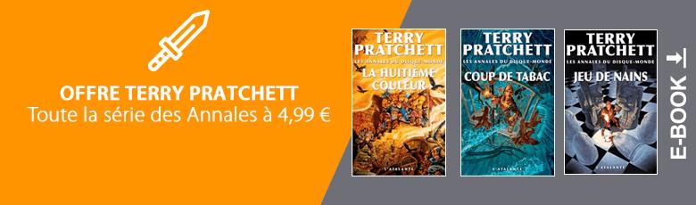 Offre Terry Prachett en numérique