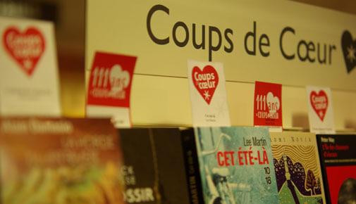 Coups de coeur Librairie Decitre Annecy