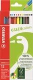 Crayons de couleurs green