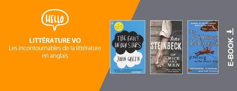 Toute notre sélection de livres en VO