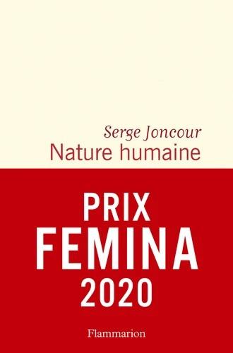 Prix Femina Serge Joncour