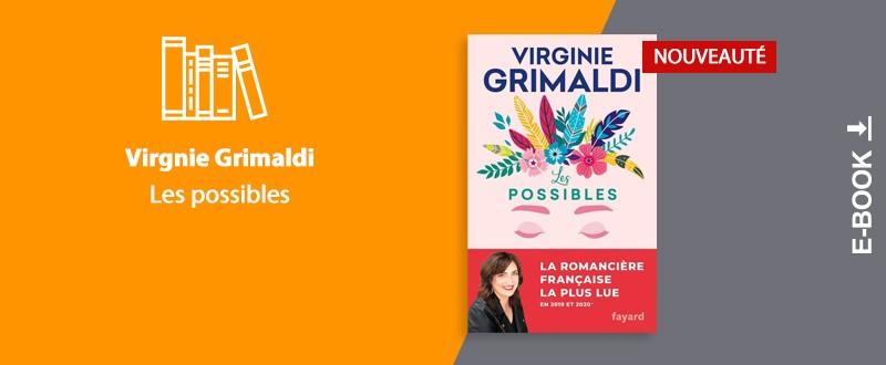 Nouveauté Virginie Grimaldi