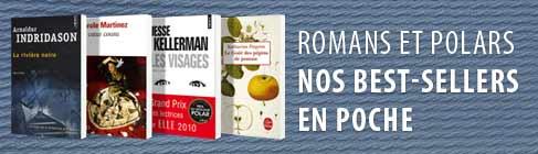 Nos meilleures ventes de polars et romans en format poche