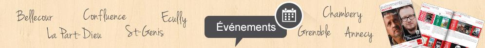 Le blog de Decitre - Les événements