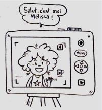 Melissa, fan de Leonardo da Vinci