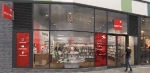 Devanture de la librairie d'Annemasse