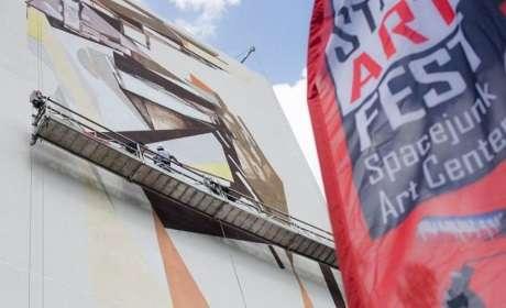 Street Art Festival : la banderole