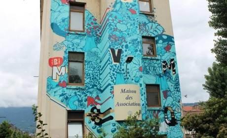 Street Art Festival : dessin mural