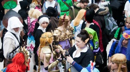 photo cosplayers