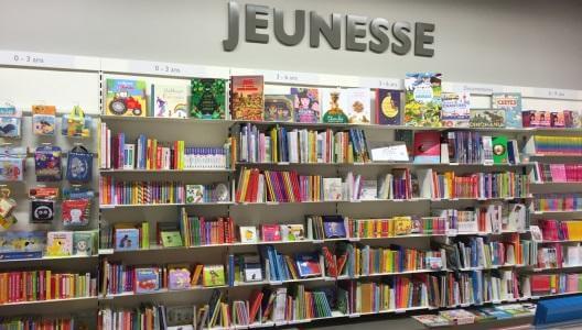 Rayon jeunesse - Librairie Annemasse